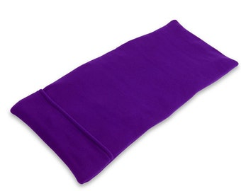 40% OFF Purple Extra Large Lumbar Microwave Heating Pad (10x24), Rice, Body Heat Wrap, Washable Fleece Cover