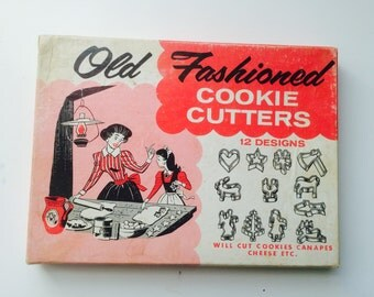 Vintage Old Fashioned Cookie Cutters