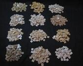1180 Assorted Wooden Scrabble Tiles, Altered Art, Crafts, Wedding Decor
