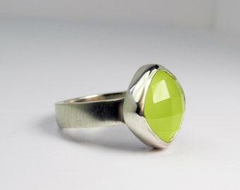 Flora Ring - green