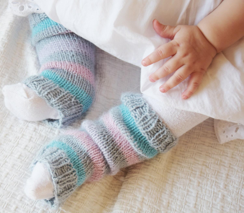 Newborn Leg Warmers Knitted Boot Cuffs Kids Leg Warmers