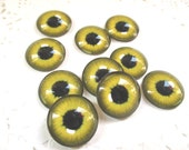 20mm 10pcs of glass eyes diy animal eyes cabochon accessories style 12
