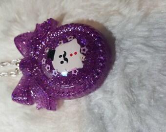Halloween Kawaii Ghost Necklace