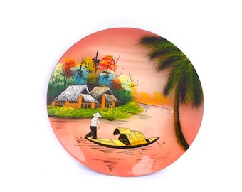Kitsch PINK ASIAN Wall PLATE