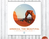 "2016 ""America, the Beautiful"" National Parks Write-On Calendar///SALE"