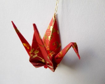 REDS Large Origami Peace Crane Ornament Set of 25
