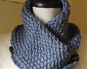Blue Neckwarmer