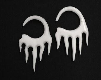 Bone Earrings 10ga, (2.5mm), 8g (3mm), 6ga (4mm) ON SALE