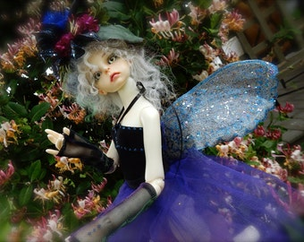 BJD clothes Fairy with Dragonfly