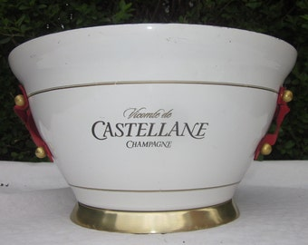 French vintage castellane champagne ice bucket