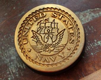 Military Soap, Navy Soap, US Navy Soap, Military Gift Soap, Vegetable Based, Handmade, Custom Scented, Custom Colored