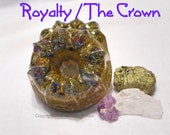 Royalty or The Crown Orgonite -containing Royal Stones-Sacred Vedic Stones-Crown Jewels-Access Your Inner Queen-Higher Chakras
