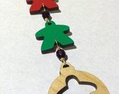 Custom meeple ornament