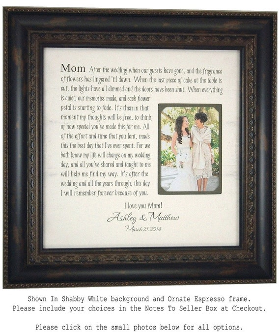Personalized Wedding Sign Mother Of The By PhotoFrameOriginals