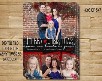 Christmas Photo Card , Holiday Photo Card, Christmas Card, Holiday Card