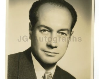 Martial Singher - French Opera Singer - Original Double-weight 8x10 Photograph