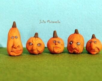 Miniature Halloween pumpkins #6