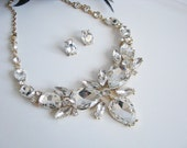 Wedding Backdrop Necklace Bridal Necklace - Bridal Jewelry - Wedding Necklace - Bridal Necklace