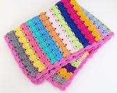 Crochet blanket bedspread throw PDF crochet pattern