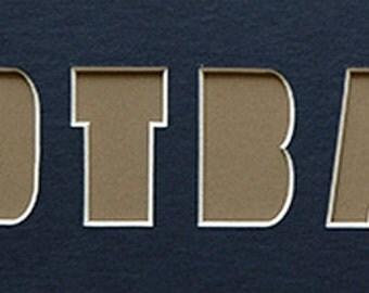 wrestling custom name frame photo mat. Black Bedroom Furniture Sets. Home Design Ideas