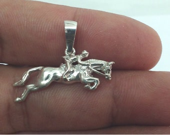 Horse Necklace, Equestrian Horse Pendant, Running Horse, Gift For Her, Girlfriend Gift, Birthday Gift For Her, Horse lovers Gift