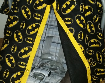 Carseat Canopy Batman