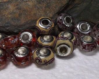 15 Gorgeous Murano Lampwork Beads