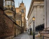 Cambridge, England, Fine Art Photography Print, English Photography, Rural Photography, England, UK, Night Photography, English Street