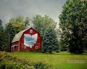 Ohio Bicentennial Barn, Fine Art Barn Photography, Old Barns, Ohio Photography
