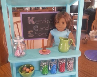 TEMPORARILY SOLD OUT Snack Stand / Lemonade Stand for 18 in doll