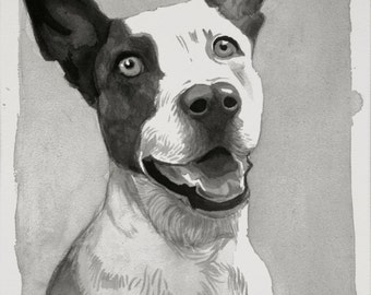 Sumi Ink Pet Portraits