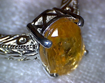 Stunning Imperial Topaz Ring