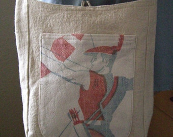 French Flea Market Crossbody Bag Cottage Chic Small Purse Embellished Robin Hood Pouch OOAK