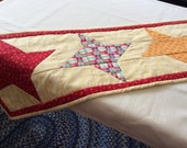 Friendship Star Quilted Table Runner