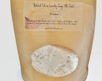 REDUCED PRICE - Natural Citrus Laundry Soap (HE - Safe) Detergent Free!