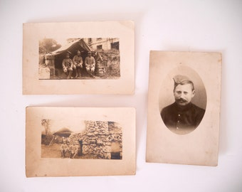 French Antique WWI Photo Collection