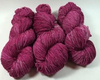 Merino Tweed Sock, hand dyed yarn, Superwash merino, color, Lady Marmalade, 100 grams, tweed yarn, multicolored yarn, sock yarn, varie