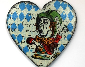 Alice In Wonderland Fridge Magnet - The Mad Hatter