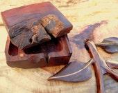Live Edge Redwood Burl Wooden Gift Box