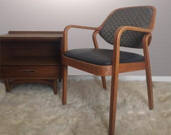 Vintage Knoll Don Petitt 1105 Side Arm Chair