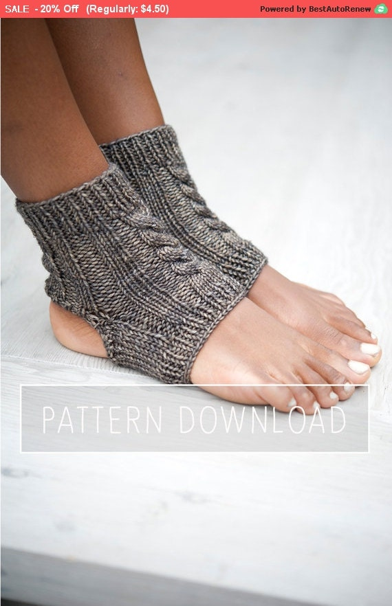 Easy Knitting Pattern For Yoga Socks : KNITTING PATTERN // Yoga Socks // Yoga Sock Pattern // Knit