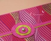 Handmade Cash Envelope or Gift card holder with velcro closure, Wedding Eid money, Baby Shower-Reserved for Navneet