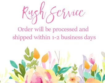 Rush My Order Production