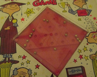 1964 Magnetic Triangle Game.  Smethport Specialty Game.  Y-039