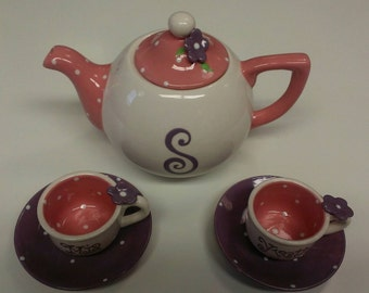 Tea Set for 6  Personalized Just for you