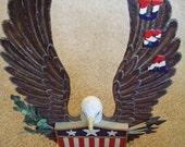 Eagle Wood Carving