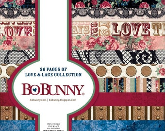 "BoBunny ""Love & Lace"" Collection 6x6 Pad"