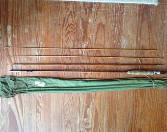 Split Bamboo Fly Fishing Pole Made in USA