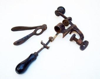 Antique Shotshell Reloading Tool Bullet Ammunition Hunting 1800s