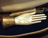 RESERVED Eastlake Victorian Hand Brooch